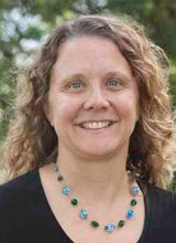 Headshot of Forklift Danceworks Board Treasurer Nancy Reiter