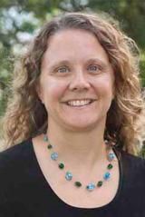 Headshot of Forklift Danceworks Board Treasurer Nancy Reiter