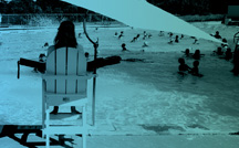 thumbnail image of a lifeguard watching swimmers